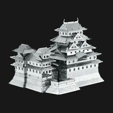Metal Earth Himeji Castle DIY laser cut 3D steel model kit