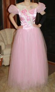 Adult Size Pink Costume Dress/Gown - Barbie, Princess, Glinda Adult Size M