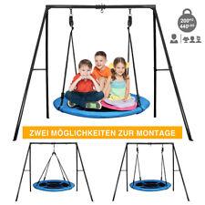 Nestschaukel Tellerschaukel Kinder Rundschaukel Ø100cm Schaukel Schaukelgestell
