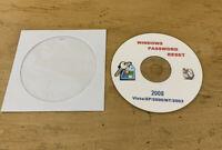 Windows Password Reset Vista XP 2000 NT 2000