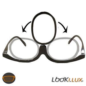 Schöne modische Schminkbrille Make up Brille Damen Frauen für 1 Auge wechselbar