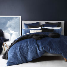 Ultima Logan and Mason King Bed Grayson Cadet Doona Quilt Cover Set Rrp239.95
