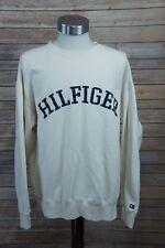 "Vintage Tommy Hilfiger Spell-Out ""HILFIGER"" Crewneck Sweatshirt XL"