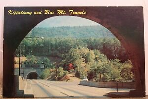 Pennsylvania PA Turnpike Kittatinny Blue Mountain Tunnels Postcard Old Vintage