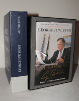 Autographed President George H.W. Bush All The Best numbered collectors box COA