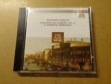 CD / VIVALDI, IL GIARDINO ARMONICO: CONCERTI DA CAMERA VOL 2