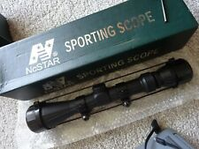 NcSTAR SPORTING SCOPE.  Air/Rifle TELESCOPIC SIGHT. Unused, In Box.