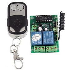 12V 10A 2 Canale Senza Fili dell'interruttore di Telecomando Trasmettitore