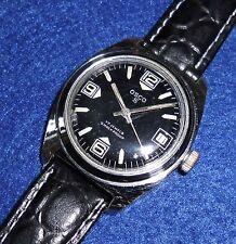 Caballeros vieja osco s reloj Náutico vintage 60er 70er diver watch funcionan reloj 6 ATM
