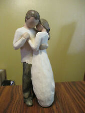 Promise Couple Willow Tree Figurine 2003 Demdaco Susan Lordi #26121