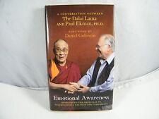 EMOTIONAL AWARENESS CONVERSATION BETWEEN DALAI LAMA / PAUL EKMAN 1ST EDITION HB