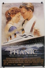 "TITANIC - Leonardo DiCaprio - Int'l ""B""  Movie Poster - 1997  Rolled DS C9"