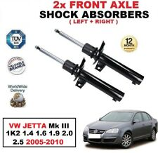 2x Amortiguadores delanteros para VW Jetta Mk III 1k2 1.4 1.6 1.9 2.0 2.5