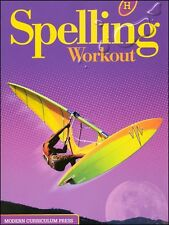 Grade 8 MCP Spelling Workout Level H Student Book 8th Modern Curriculum Press
