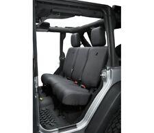 Bestop Black Denim Rear Seat Covers for 07,13-17 Jeep Wrangler 4-Door # 29284-35