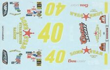 #40 David Stremme Lonestar 2008 1/24th - 1/25th Scale Waterslide Decals
