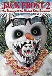 Jack Frost 2: Revenge of the Mutant Killer Snowman (DVD, 2003)