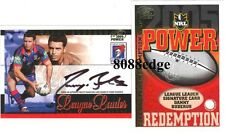 2005 SELECT NRL SIGNATURE REDEMPTION:DANNY BUDERUS #64/110 NEWCASTLE KNIGHTS