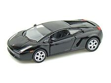 "Brand New Kinsmart 5"" Lamborghini Gallardo Diecast Model Toy Car 1:32- Black"