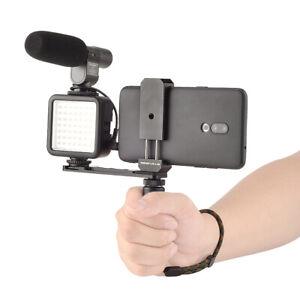 Stabilizer Mount Hand Grip Video Vlogging Kit Phone Handle Holder for GoPro 9 8