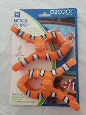Clown Fish Boca Beach Towel Clip Patio Cruise Pool Lounge Chair Holder Clips