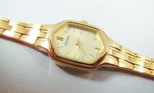Pulsar by Seiko PC3172 Gold Tone Base Metal 1N01-A364 Sample Watch NON-WORKING