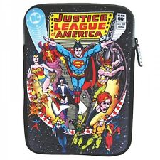 Justice League Tablet Zipped Bag Sleeve Comic Cover Protector Official DC Comics