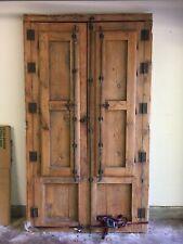 Antique Doors-rustic set of Spanish double doors. Very unique!