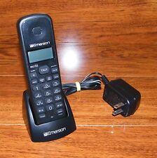 Emerson Dect 6.0 Black Cordless Expansion Handset For Em6113-Bk Phone System