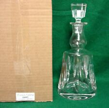 St Louis Cristal JERSEY Decanter (DECM2) MINT in GIFT BOX