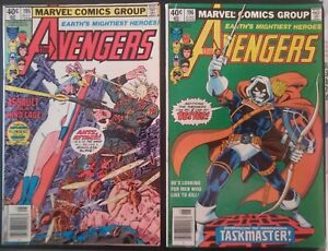 Avengers 195 and 196 Lot – 1st cameo and 1st full appearances of Taskmaster