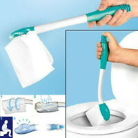 Bottom Bum Wiper Toilet Incontinence Aid Obese Elderly Disability Mobility Tool