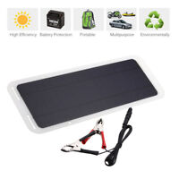 Environmental Solar Panel Charger Battery Car Boat Backup Power Supplier 12V 5W