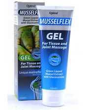 Optima Musselflex Gel For Tissue & Joint Massage With Green Lipped Mussel 125ML