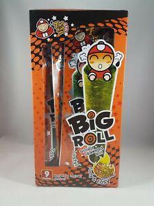 TAO KAE NOI Grilled Seaweed Big Roll Tom Yum Goong Flavor 9 Packets FREE SHIP