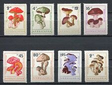33454) BULGARIA 1961 MNH** Mushrooms Funghi 8v