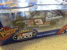 Winner's Circle  Official Nascar 2000 Dale Earnhardt Goodwrench #3  1/24 Scale
