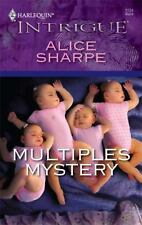 Multiples Mystery by Alice Sharpe (2009, Harlequin Intrigue paperback)