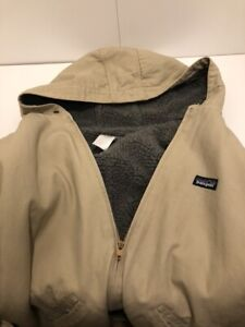 Men's Vintage Sherpa-Fleece-Lined Patagonia Winter Jacket, Large and RARE