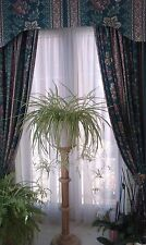 Made to measure 3 pairs of curtains, pelmets, tie backs, & kitchen valance - VGC