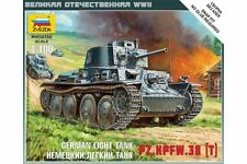 ZVEZDA 6130 1/100 German light tank Pz.Kpfw. 38(t)
