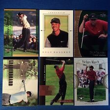 2001 Upper Deck Golf Tiger Woods / Sergio Garcia / Parnevik Rookie 40 Card Lot