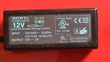 Sony AC-12V1 12V 2A Genuine Power Supply