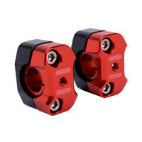 "Motorcycle Universal 7/8"" 22mm 1 1/8"" 28mm Handlebar Riser Clamps Mount For KTM"