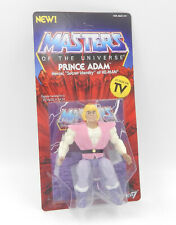 MotU Masters SUPER 7 WAVE 3 - PRINCE ADAM Action Figure unpunched MOC Neu/OVP