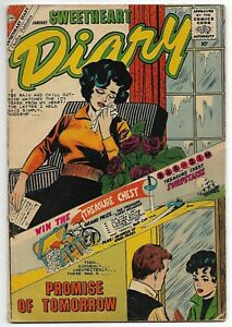 """Sweetheart Diary #56 (Charlton, 1960) – """"The Wrong Kind of Girl to Marry"""" – VG+"""