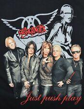 Aerosmith Push Play Concert Tour T Shirt 2001 ROCK NEW NOS Sz L Large