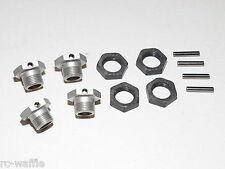 MUGE2017 MUGEN SEIKI MGT7 1/8 GT NITRO ON-ROAD 17MM WHEEL HEXES AND LOCKING NUTS