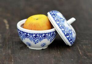 Apple Container Handmade Polish pottery Boleslawiec