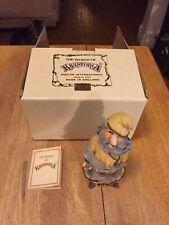 The World of Krystonia England Figurine Gilbran Of Wenlock with Box & Coa